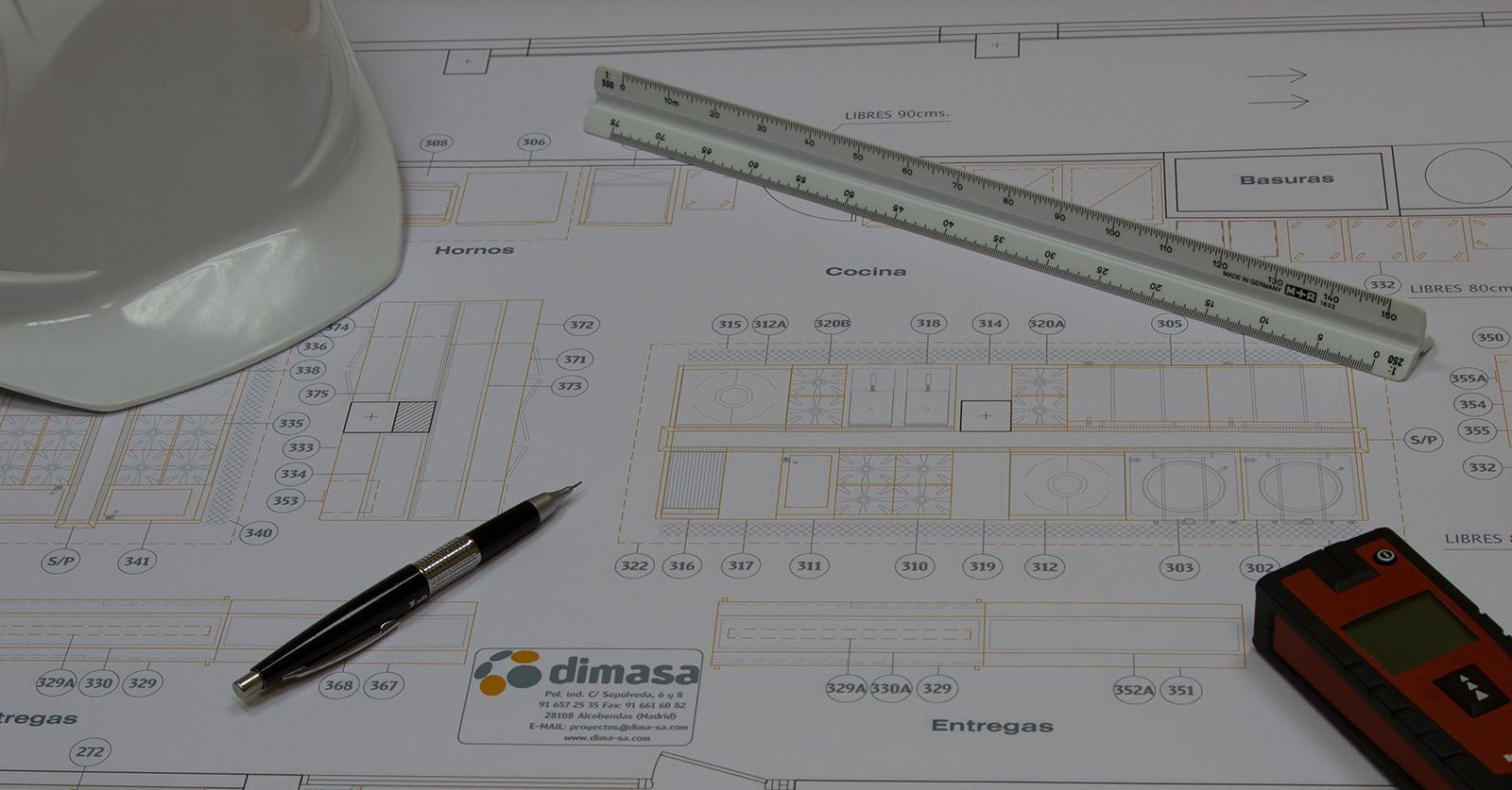 Diseñamos y ejecutamos proyectos de hostelería y tiendas de conveniencia