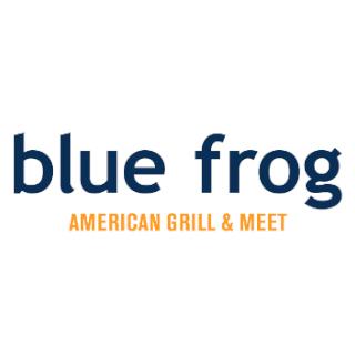 blue frog logo - Clientes